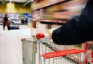 courses en supermarché