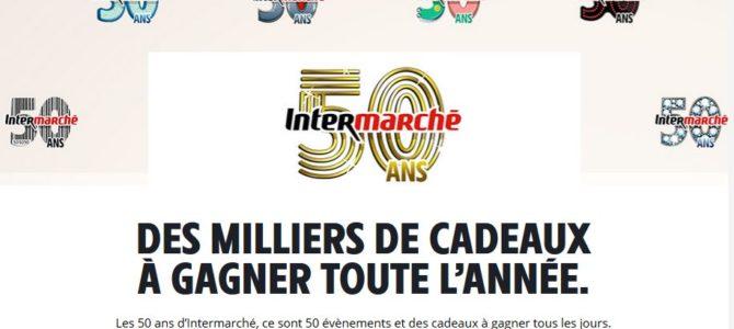 Pour fêter ses 50 ans, Intermarché lance une année entière de jeux concours